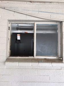 old window needing repair